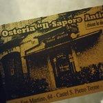 Foto de Osteria il Sapore Antico