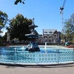 The Peacock Fountain.