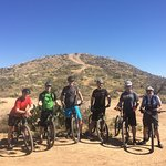 Groups have an excellent time bonding over the physical activity of mountain bike riding!