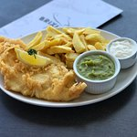 Enjoy traditional fish and chips in our licensed ground floor cafe or harbour view restaurant