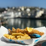 The same great fish and chips are also available to takeaway