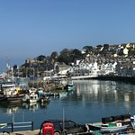 Look out over Brixham harbour from our first floor licensed restaurant
