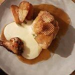 Suprême de poulet, déclinaison de pomme de terre