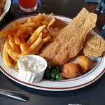 Lunch portion - catfish & fries