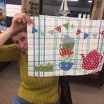 Ladies Tea-towel Art workshop
