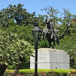 Statute of President Andrew Jackson in Jackson Square