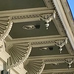 Beautiful corbels on a house in the French Quarter