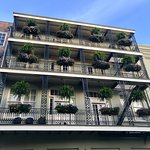 Beautiful architecture in the French Quarter