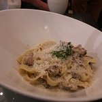 Chicken Fettuccine, about the size of your fist - $29
