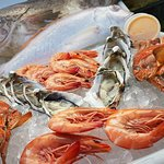 All locally caught, Fresh Seafood