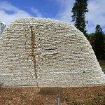 Strange rock monument