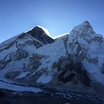 Everest and Nupste from atop Kala Pattar