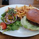 Superb burger, though the skinny fries were a disappointment