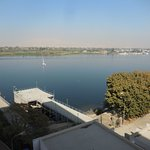 View of Nile from a hotel in Luxor