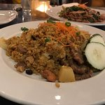 Curried rice with pork