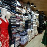 Abundant selection of fabrics