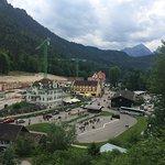 Castelo Hohenschwangau em junho