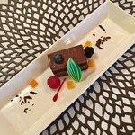 Chocolate cake 'desert of the day'