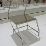 NGV art exhibition - manga chair (art of showing movement when static)