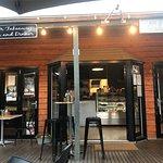 Aussies enjoy Dinner at Black Panther Cafe