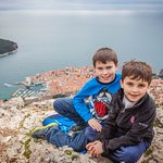 Looking at Dubrovnik from a different point of view.