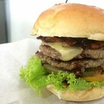 Yummy double double burger