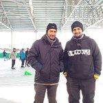 With owner Mr. Taj Irshad
