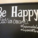 Be Happy Eat Ice Cream at Capannari - Mt Prospect (14/Apr/18).