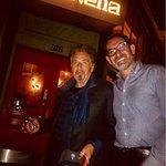 Al Pacino at Amarena Restaurant