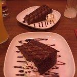 Dessert was amazing! The Chocolate Fudge Cake was chocolate heaven and the Tiramisu was light an
