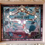 Stained Glass at Egg Harbor Cafe - Schaumburg (13/Apr/18).