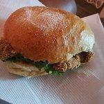Sandwish normal au poulet + nuggets