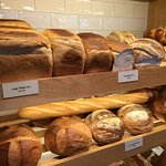 A wide range of breads available each day.
