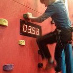 Timed climb - great competitive fun