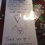 Neat customer art napkins