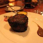 Fillet mignon, 8 oz.. A very good steak.