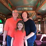 On the Strasburg Rail Road!
