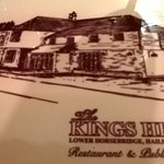 The Kings Head - placemat graphic