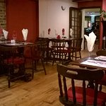 The Kings Head dining room - quiet but homely