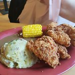 chicken and mash