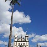 Vista do Santuário e profetas