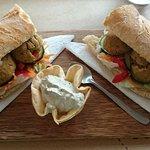 Sanduba com falafel - Fev/18