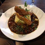 Pan fried bangers & mash - Tasty