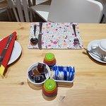 Breakfast - table.