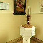 A baptismal