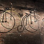 Penny-Farthing bicycles at Urban Chestnut Brewery