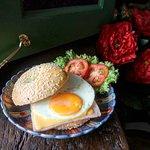 Bagel, Ham, Egg & Cheese