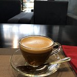 Visit #2 to Downtown Cafe—Exceptional VN Coffee Served Hot in A Clear Cup & Saucer; Further Diff