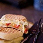 lovely homemade panini