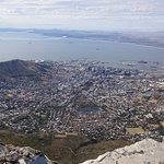 View from table mountain...